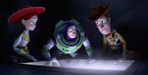 JESSIE, BUZZ LIGHTYEAR, WOODY