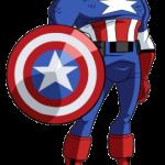 Marcos de Capitán América para descargar