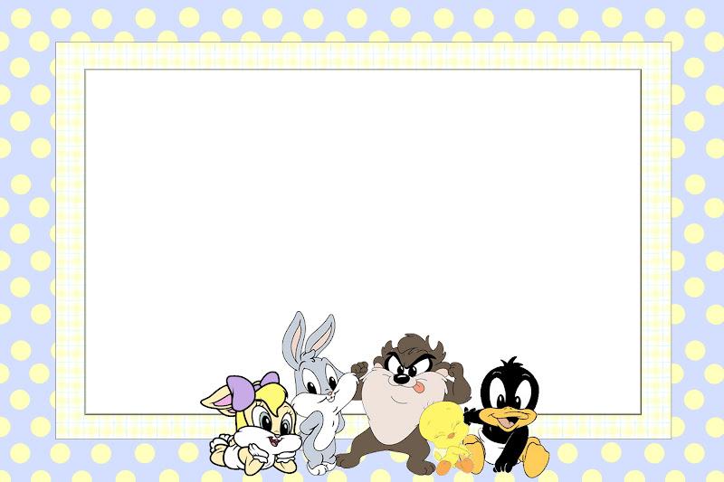 Imgenes y marcos de Looney Tunes  Imgenes para Peques