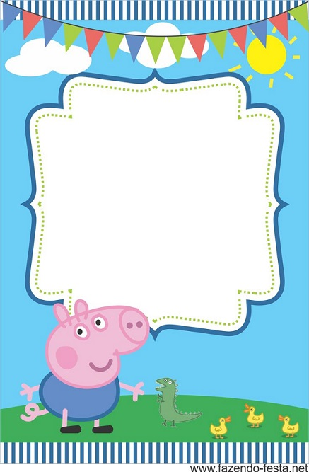 Imágenes de Feliz Cumpleaños con Peppa Pig y su familia ...
