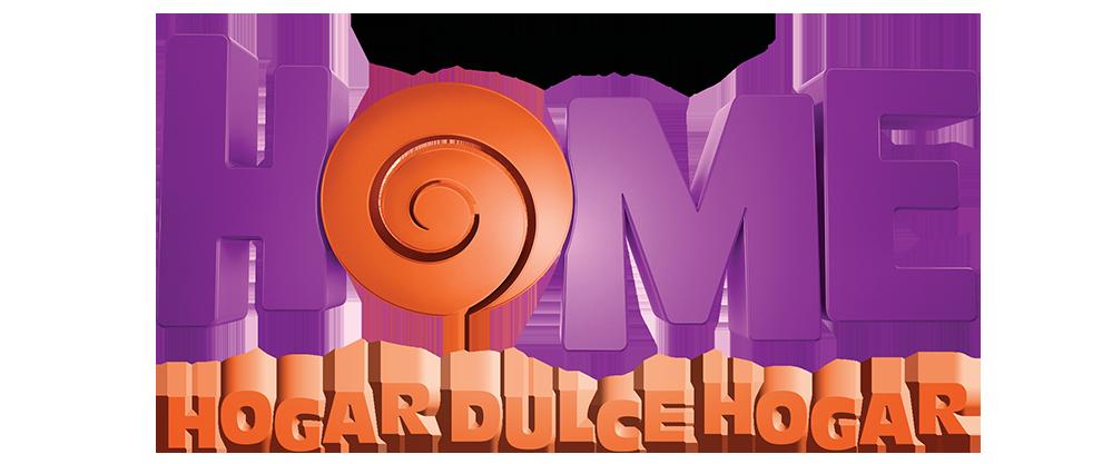 Logo película Home