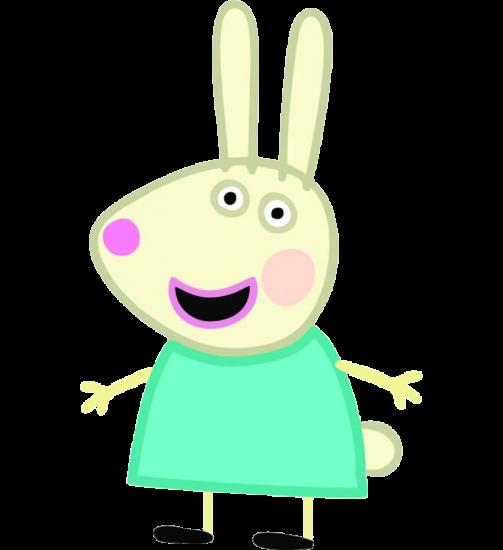 AMigos de Peppa Pig Rebecca Rabbit coneja