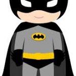Imágenes infantiles de Batman, Robin, Guason y Batichica