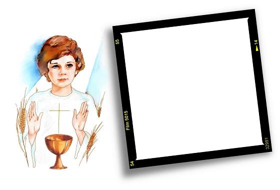 Imágenes, tarjetas y marcos de Bautismo y Confirmación