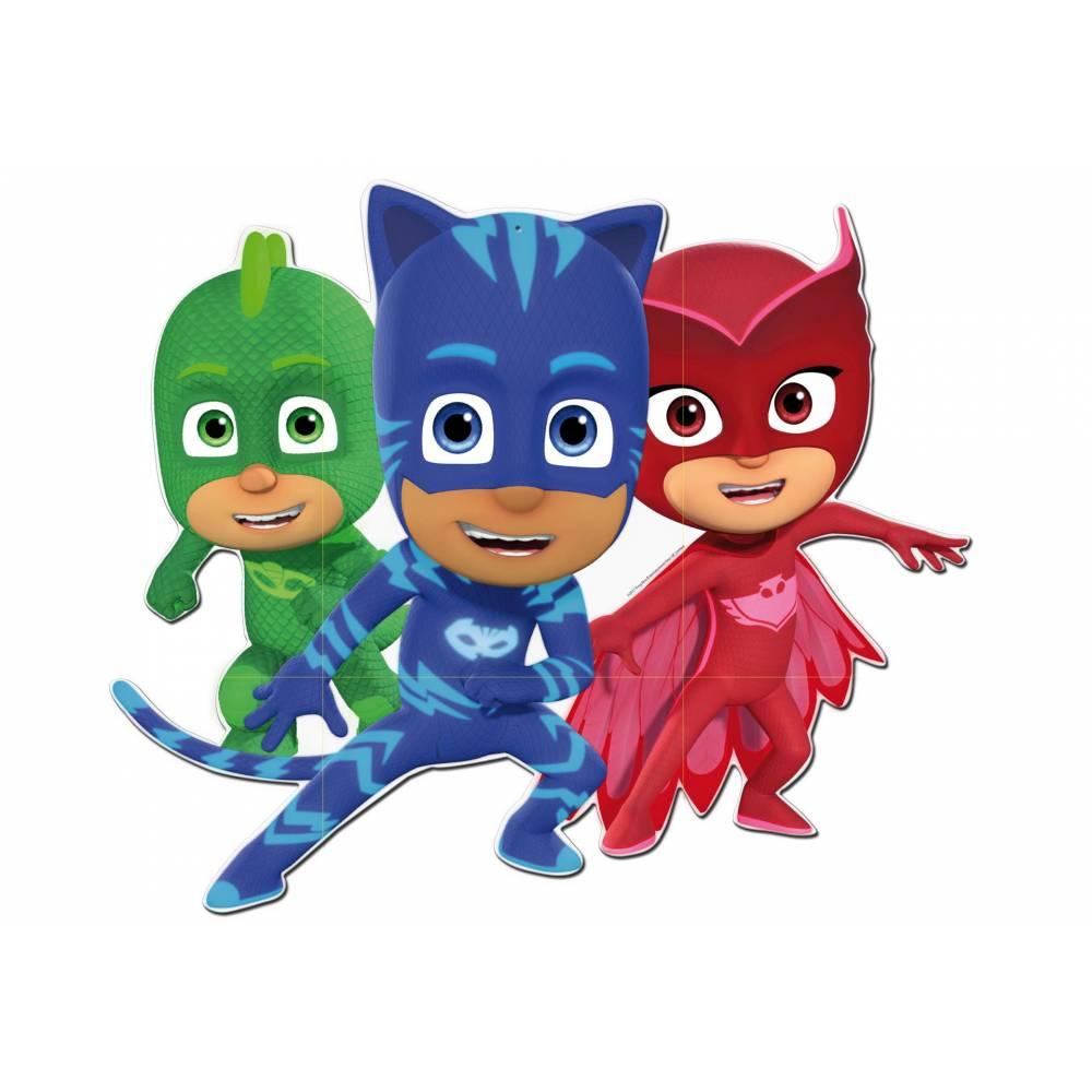 Pj Masks Héroes En Pijamas Imágenes Personajes