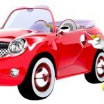 Imágenes de Mickey y amigos corriendo carreras de automóvil