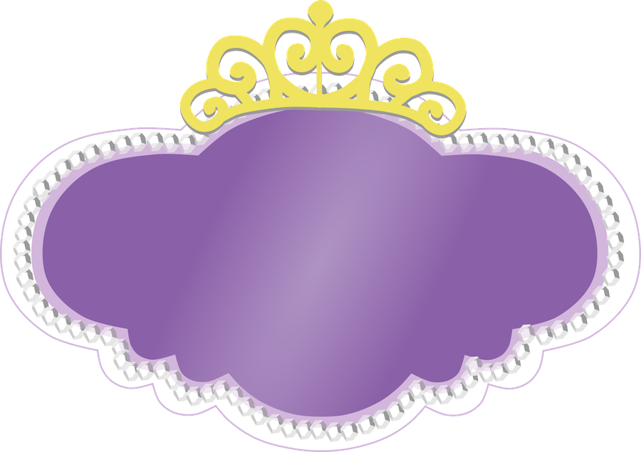 sofia the first crown template - logo de princesa sof a im genes para peques