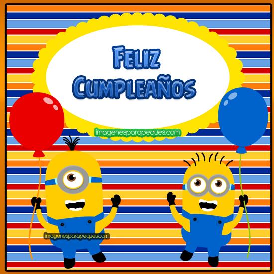 Feliz Cumpleaños Minions