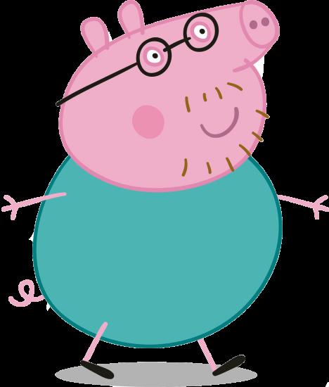 Papa Cerdito Peppa Pig FiguraS