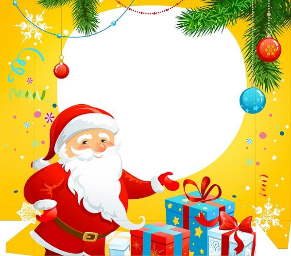 imágenes y tarjetas de feliz navidad y papá noel imágenes para peques