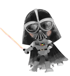 DARTH VADER STAR WAS CLIPART PNG