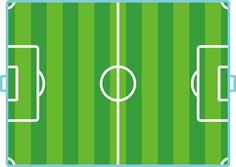 imagen cancha de futbol infantil niños