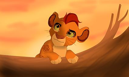Kion Guardia del leon Disney