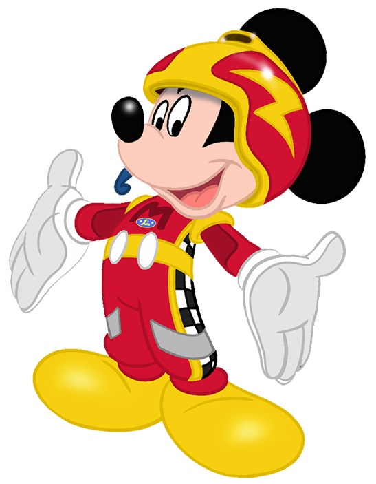 mickey-corredor-carreras-mickey-automovil
