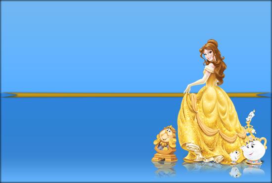 princesa bella imprimibles - princesa bella marcos - princesa bella stickers etiquetas