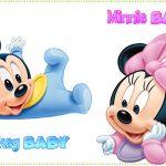 Imagenes y elementos Minnie Baby & Mickey Baby